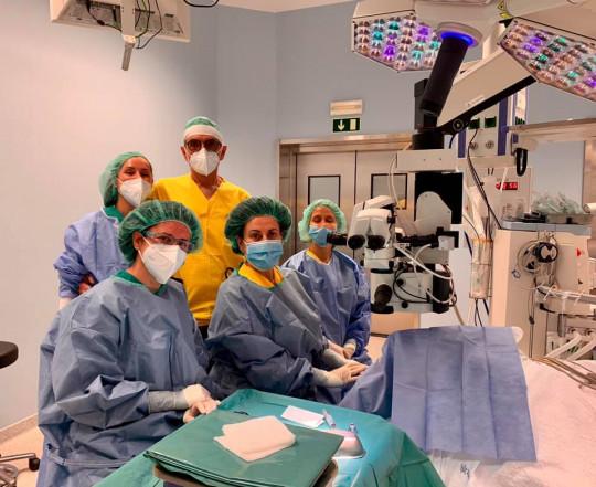 Professora Maria João Quadrado realiza transplantes de córnea no Funchal