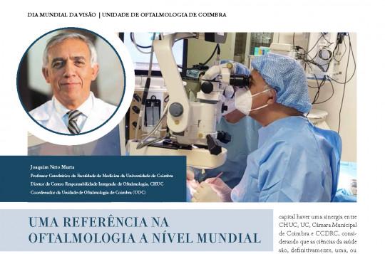 UOC - Unidade de Oftalmologia de Coimbra em destaque na revista Business Portugal