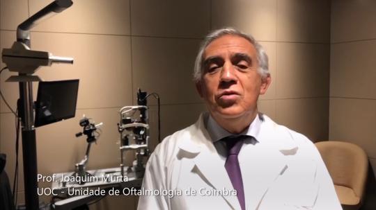 Joaquim Murta, oftalmologista da UOC - Unidade de Oftalmologia de Coimbra