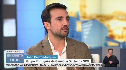 Dr. João Pedro Marques, médico oftalmologista na UOC - Unidade de Oftalmologia de Coimbra