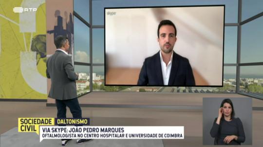 Dr. João Pedro Marques, oftalmologista na UOC