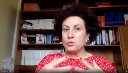 Maria João Quadrado, oftalmologista da UOC