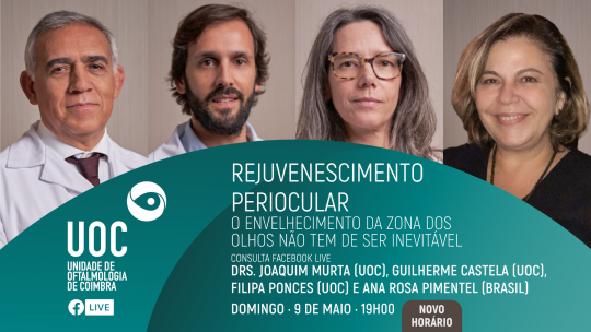 Drs. Joaquim Murta, Guilherme Castela, Filipa Ponces e Ana Rosa Pimentel